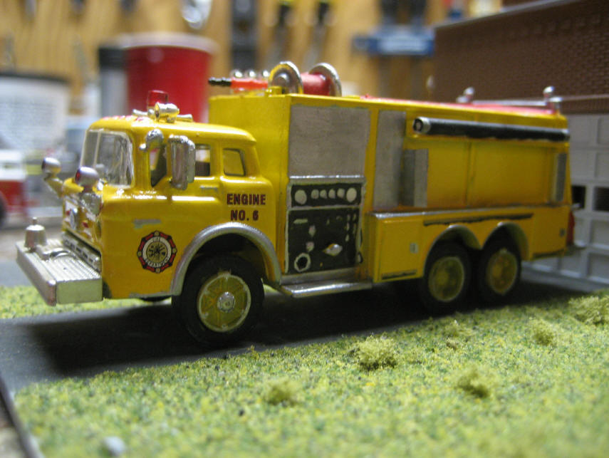 Seagrave Fire Apparatus >> I started off with a Bayonne and removed all the decals